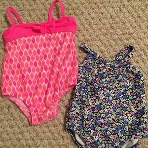 2 infant bathing suits